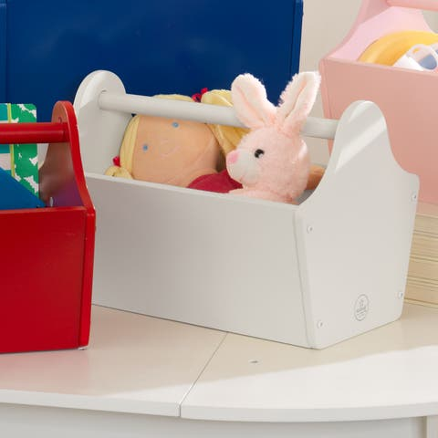 Toy Caddy - White