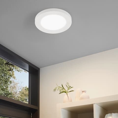 Eglo Trago 5 Ceiling / Wall Light with White Shade