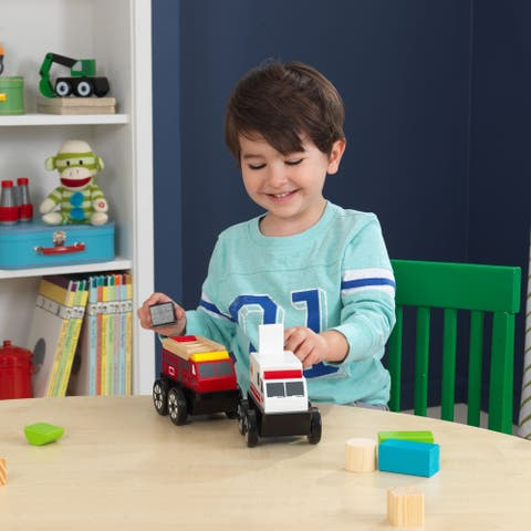 Vehicles And Playsets Set - Rescue
