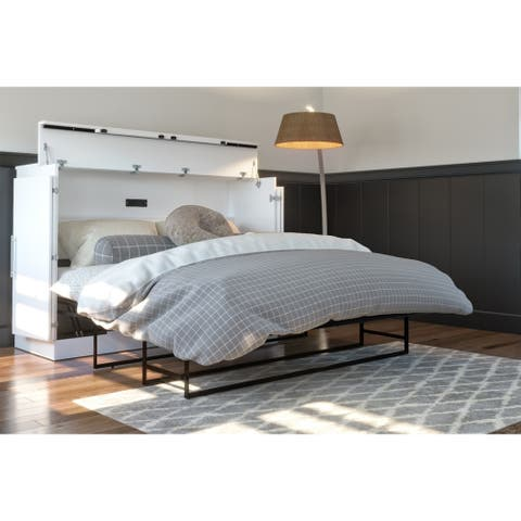 Carbon Loft Lakota Modern Folding Cabinet Bed