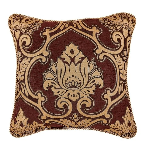 Gracewood Hollow Sharma Chenille 18-inch Square Pillow