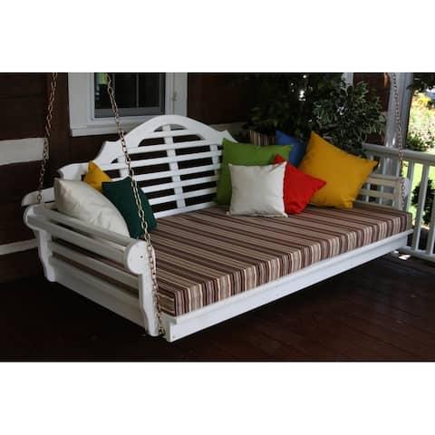 "75"" Twin Size Marlboro Swing Bed"