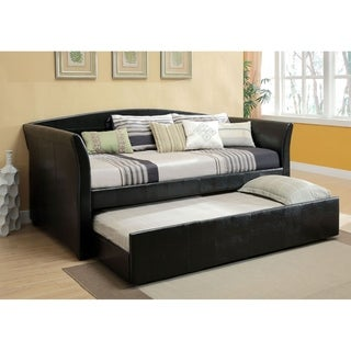 Williams Home Furnishing Delmar King  Daybed in Black Finish