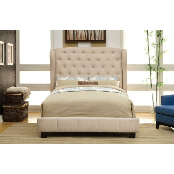 Williams Home Furnishing Fontes Queen Bed in Ivory Finish