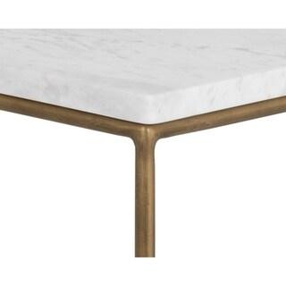 Sunpan Tribute End Table - Marble