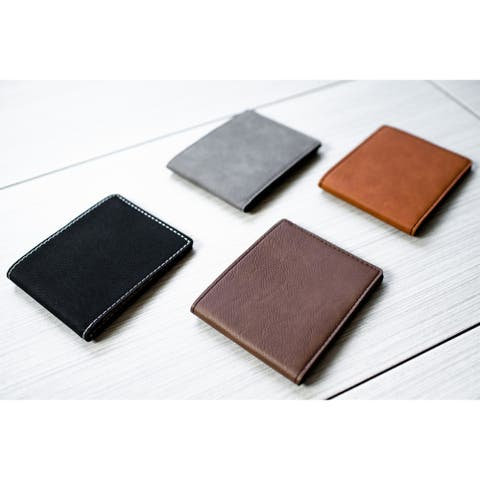 Caddy Bay Collection Vegan Leather Wallet - 4 Colors