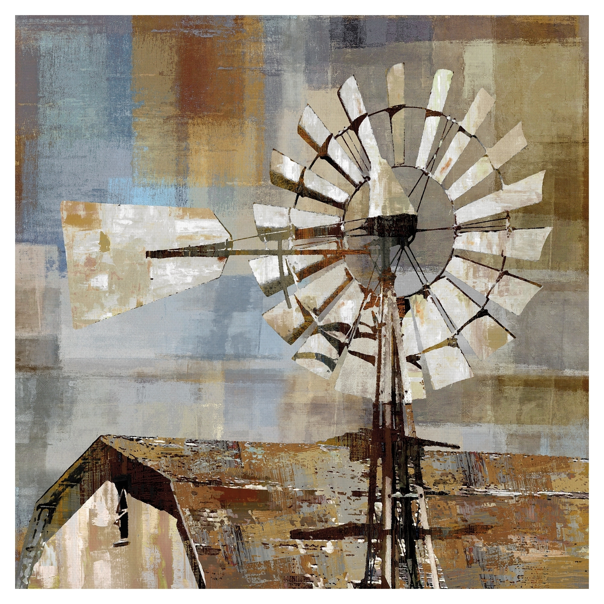 Windmill Canvas Art