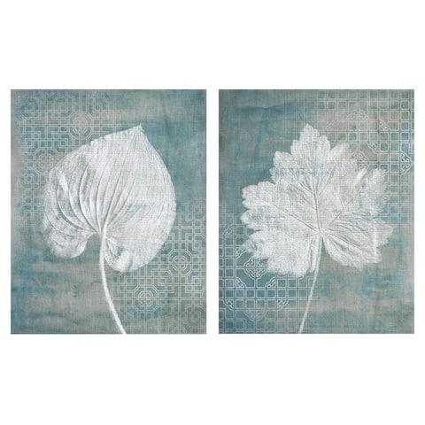 Wildwood I & II by Rosenstiels Canvas Art Print Set of 2 - White