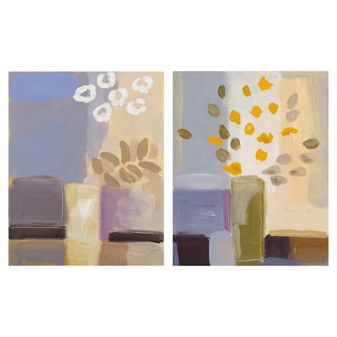 Spring Innovation I & II by Rosenstiels Canvas Art Print Set of 2