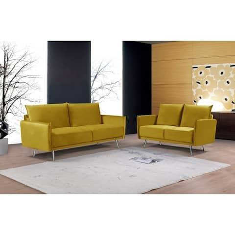 Pleasing Buy Yellow Living Room Furniture Sets Online At Overstock Interior Design Ideas Tzicisoteloinfo