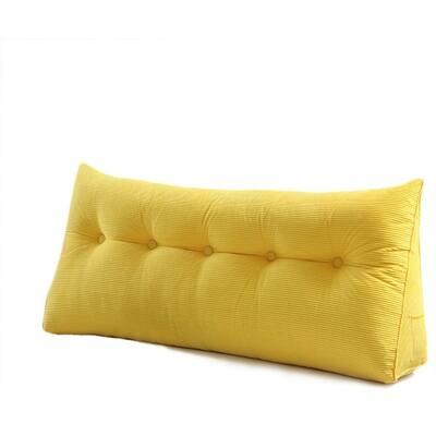 WOWMAX Wedge Pillow Bolster Headboard Cushion Backrest