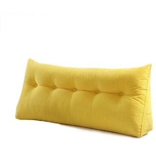 WOWMAX Wedge Pillow Bolster Headboard Cushion Backrest Positioning Support
