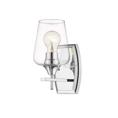 Joliet 1 Light Wall Sconce in Chrome