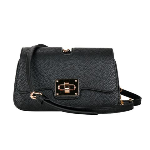 Multi-Compartment Twist-Lock Crossbody