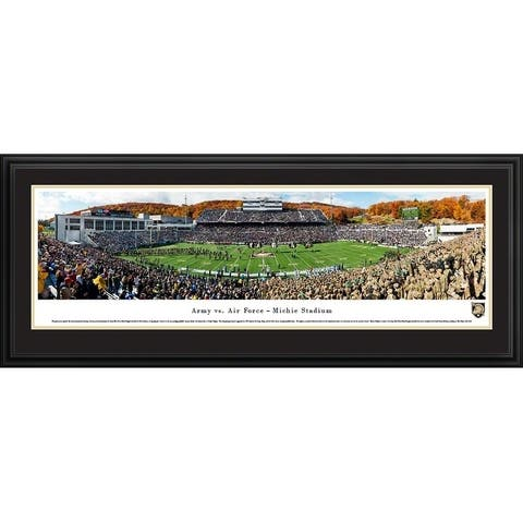 Army vs Air Force Football Framed Panoramic Pictures