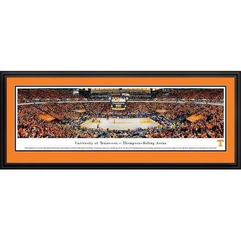 Tennessee Basketball Framed Panoramic Picture