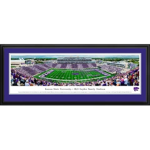 Kansas State Football Framed Panoramic Pictures