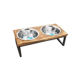 Link to Contemporary Wooden Diner Similar Items in Dog Feeders & Waterers