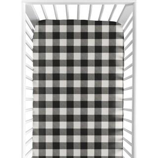 Shop Sweet Jojo Designs Purple Fitted Crib Sheet Free