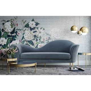 Link to Plato Grey Velvet Sofa Similar Items in Sofas & Couches