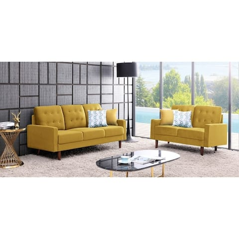 Fantastic Buy Yellow Living Room Furniture Sets Online At Overstock Interior Design Ideas Tzicisoteloinfo