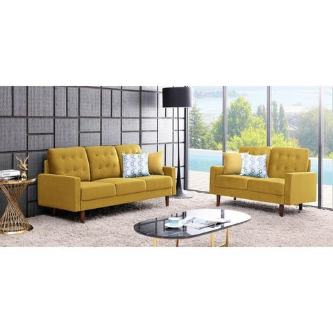 Amazing Buy Yellow Living Room Furniture Sets Online At Overstock Interior Design Ideas Tzicisoteloinfo