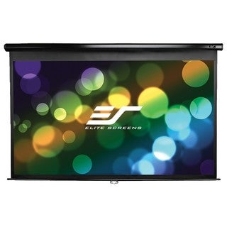 Elite Screens Manual Wall and Ceiling Projection Screen