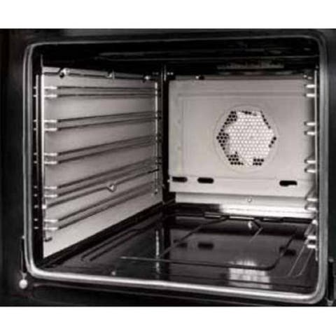 """Hallman Self Clean Oven Panels for 60"""" Dual Fuel Ranges - Silver - N/A"""