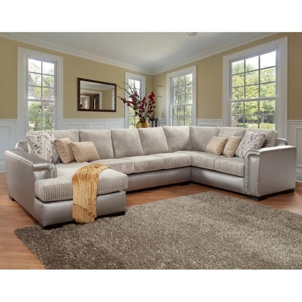 Shop Monroe 3 Piece Sectional By Arely S Furniture Inc Overstock 28626288