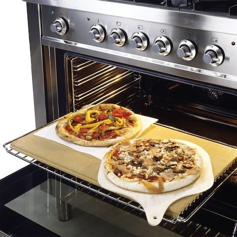 Hallman Clay Pizza Stone - 12 inches - N/A