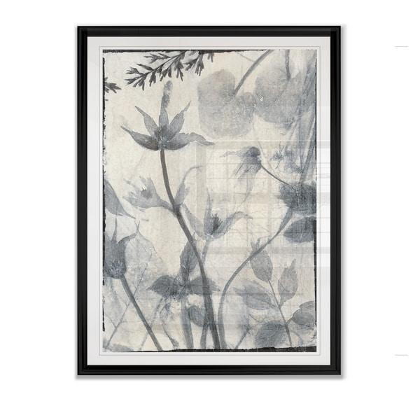 Silk Botanicals III -Framed Giclee Print