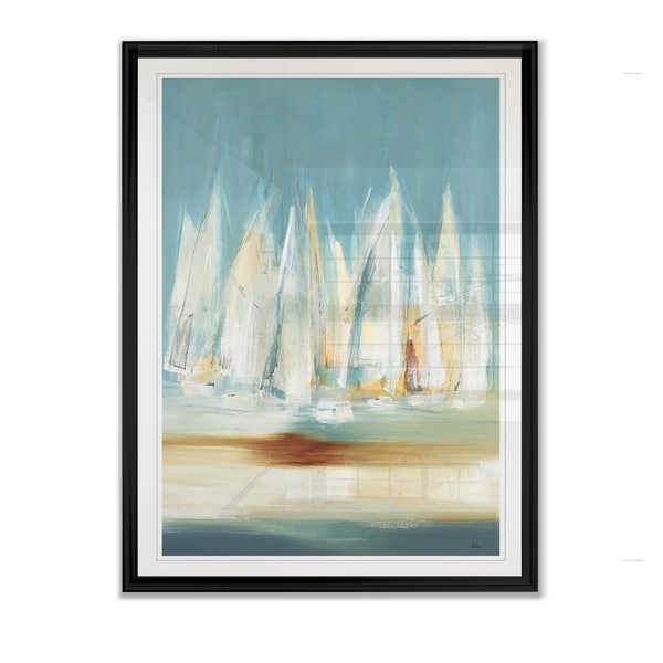 A Day to Sail II -Framed Giclee Print