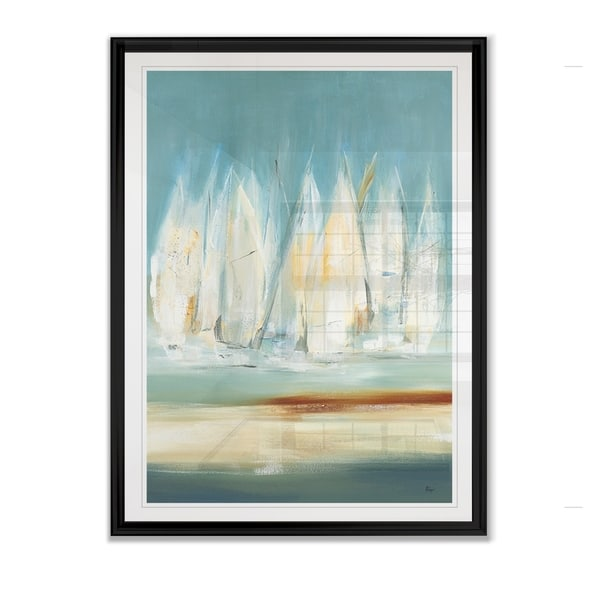 A Day to Sail I -Framed Giclee Print