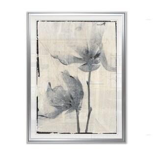 Silk Botanicals I  -Framed Giclee Print