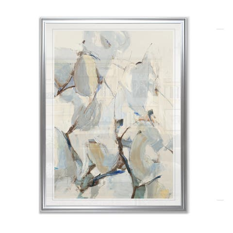 Wind and Pear Tree -Framed Giclee Print