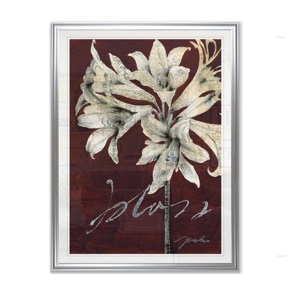 Cabernet Blossoms II -Framed Giclee Print