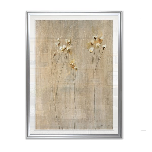 Vanilla Bloom I -Framed Giclee Print