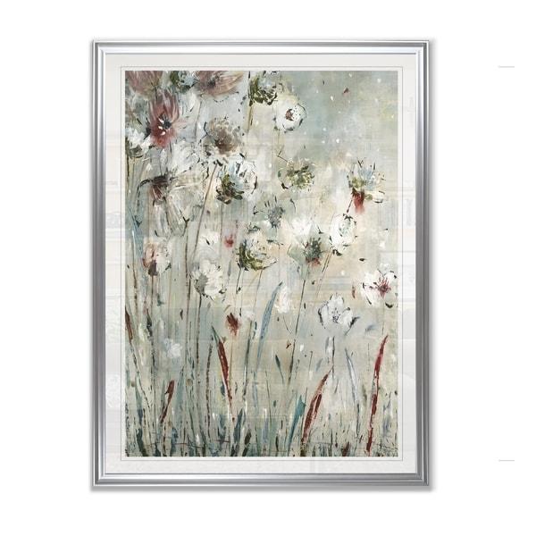 Night Flowers -Framed Giclee Print
