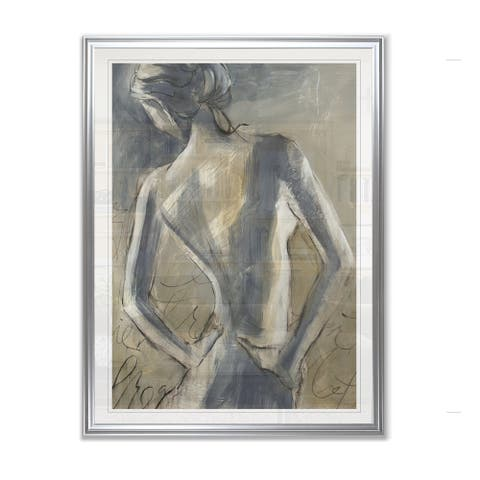 Silver Orchid The Dance Framed Giclee Print