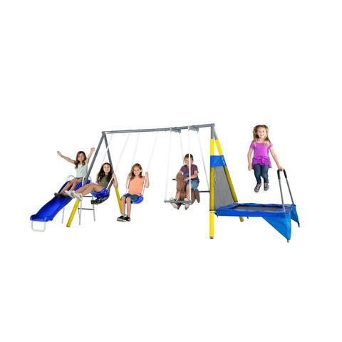 Sportspower Bridgeport Metal Swing Set