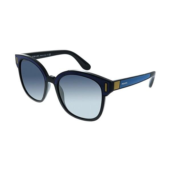 94a4f3e244 Shop Prada Catwalk PR 05US SUI3A0 Womens Black Blue Frame Blue ...