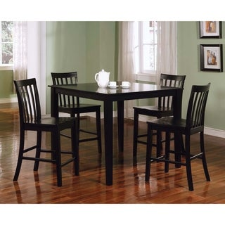 Stefan Black 5-piece Counter Height Dining Set