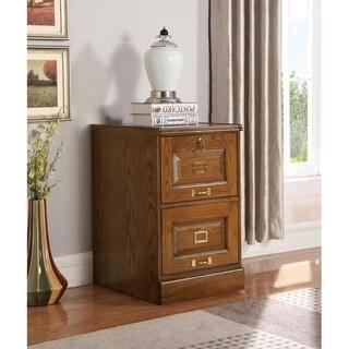 Mia Warm Honey 2-drawer File Cabinet