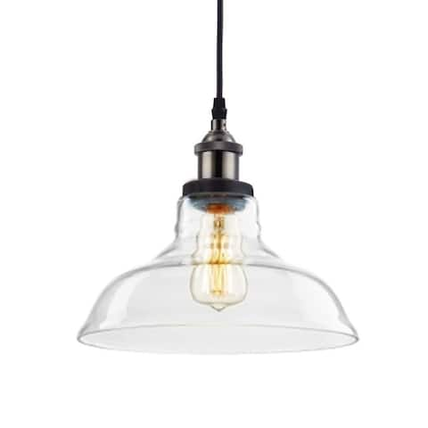 Carbon Loft Kamari Industrial Edison Vintage Style 1-Light Pendant - N/A