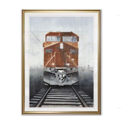 Last Stop -Framed Giclee Print
