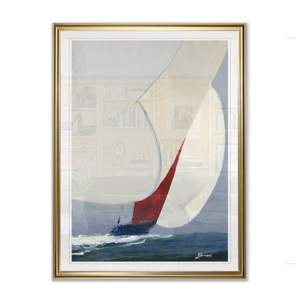 Chutes Up -Framed Giclee Print