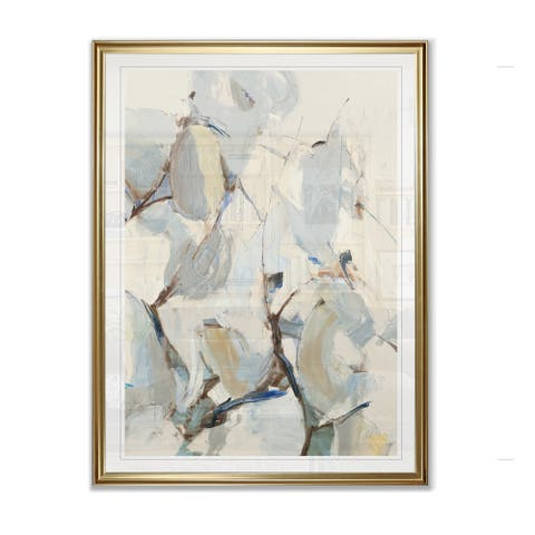 Porch & Den 'Wind and Pear Tree' Framed Giclee Print