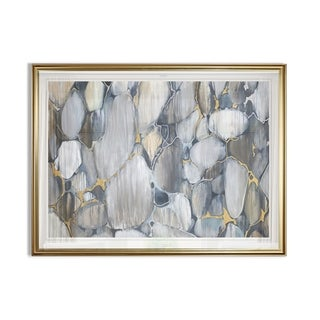 Silver Orchid Framed Ready-to-hang Giclee Print