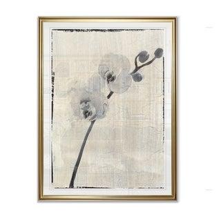Silk Botanicals VI  -Framed Giclee Print