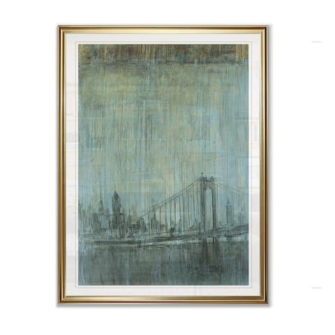 Urban Fog II -Framed Giclee Print